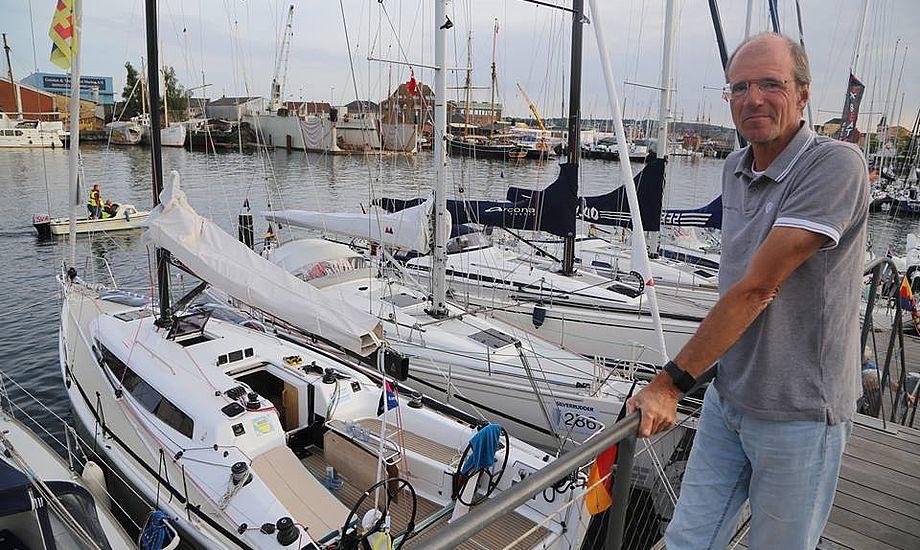 Karl Dehler i Svendborg i Silverrudder. Foto og video: Troels Lykke