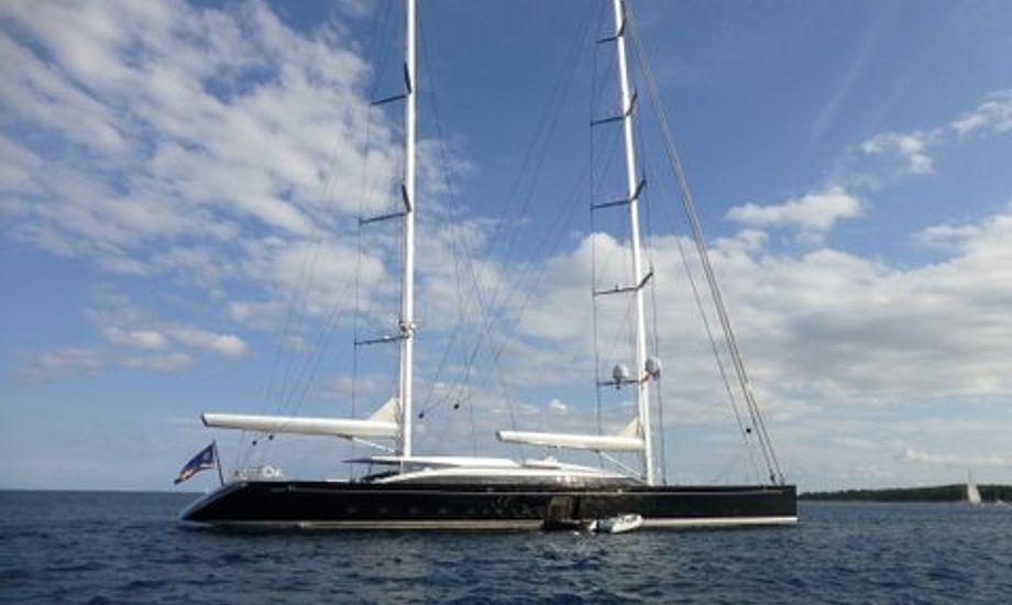 Superyachten  S/Y VERTIGO er bygger af det kendte Alloy Yachts