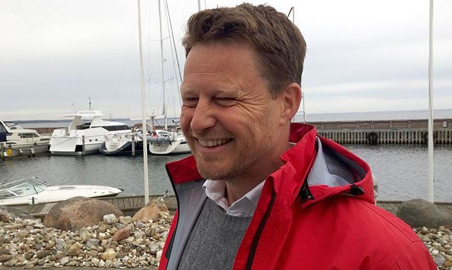 Dansk Sejlunions generalsekretær Mads Kolte-Olsen, her på Rungsted havn. Foto: Troels Lykke