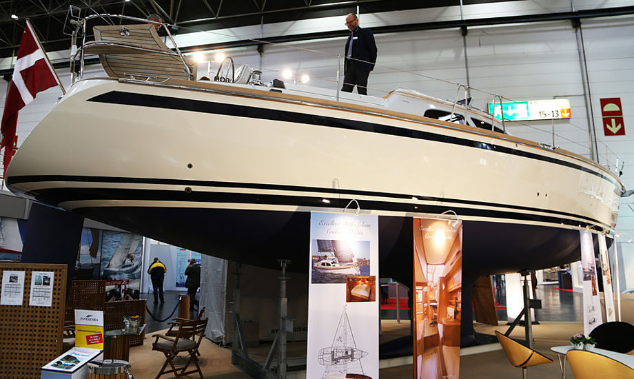 Nordship Yachts var på bådudstilling i Düsseldorf, hvor man præsenterede det nye Nordship Custom Line koncept. Foto: Troels Lykke