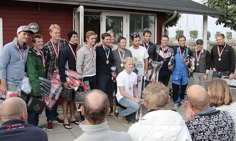 Rosendahl-tvillingerne skal i denne uge forsvare sidste års Matchrace Ungdom-VM titlen sammen med Joachim Aschenbrenner. Foto: KDY