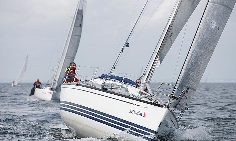Foto fra sidste års Two star race, hvor flere blev grundejere, og vejret var meget blandet. Foto: Mick Anderson/sailingpix