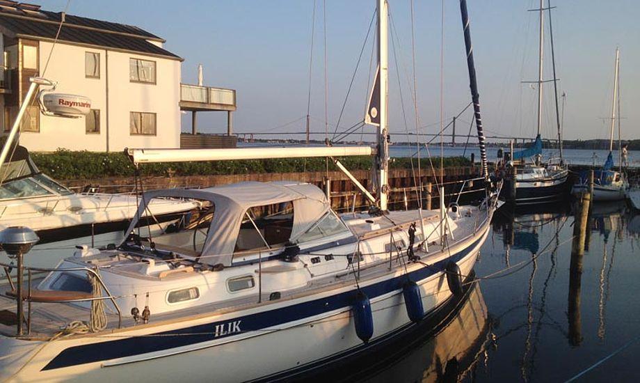 MarineParkens nye kontor ligger med Lillebælt på den ene side og havnen på den anden. Foto: Bo Hold