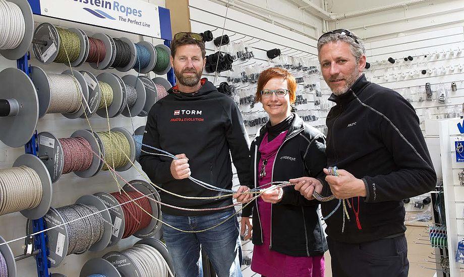 Dansk Sejlunion og Gleistein Ropes har netop underskrevet ny samarbejdsaftale. Foto: Dansk Sejlunion