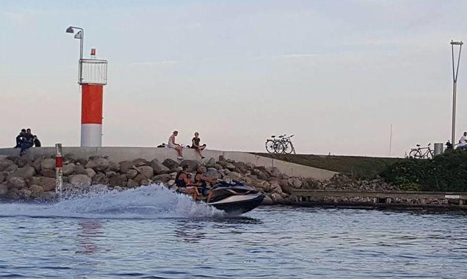 Som det ses her i Aarhus, så er det ikke alle som overholder zonen. Foto: Troels Lykke