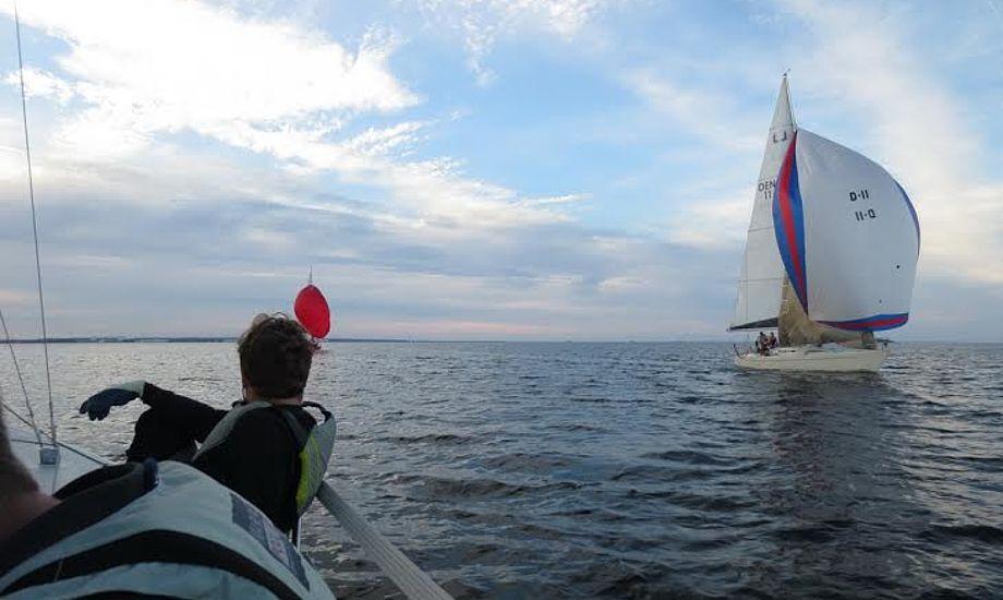 Anders Dylov og resten af hans besætning mangler nu Rundt om Forterne på lørdag. Foto: Anders Dylov