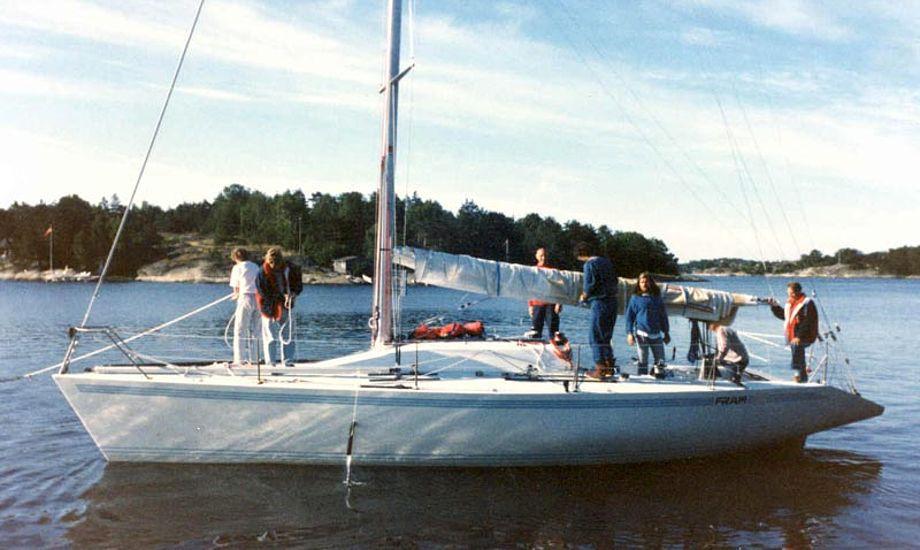 Fram X fra 1987 bygget af Farr-værftet. Foto: Farr Yacht design