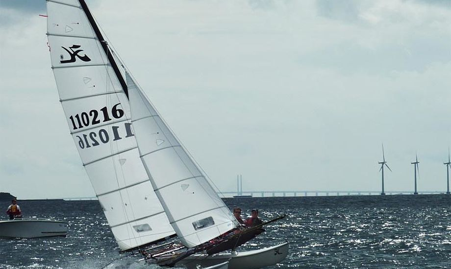 Brødrene Erik Christensen og Peter Krabbe-Christensen sejlede suverænt sejren hjem med fem 1.pladser og en enkelt 3.plads. Fotos: Katrine Bertelsen