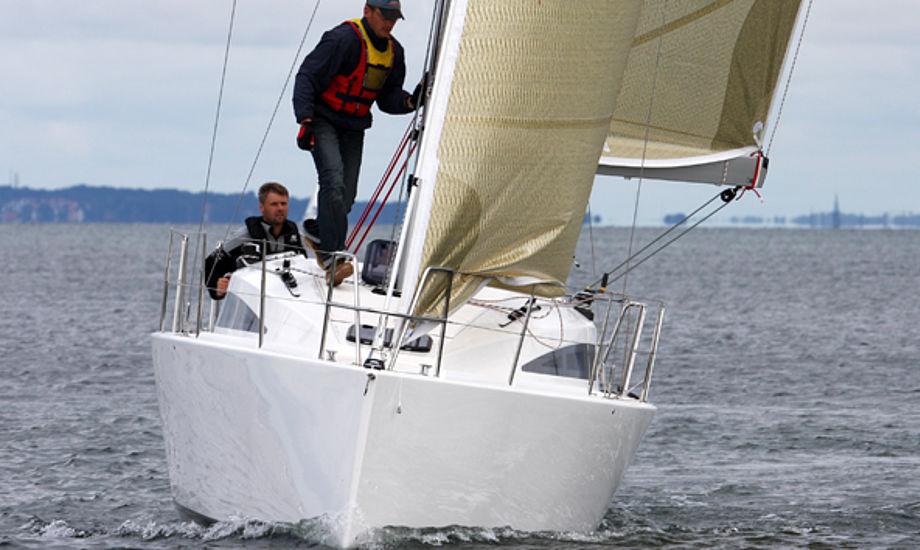 dansk vivace 34er på Øresund