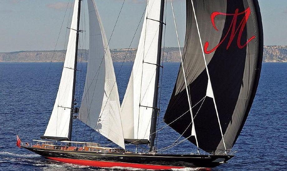 Båden er specialbygget af Hoek Design for Vitters Shipyard i 2010. Foto: Vitters Shipyard.