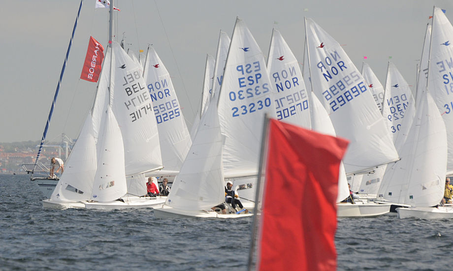 Snipe-sejlere fra udlandet kom atter til det kendte stævne i Espergærde.