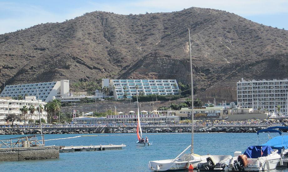 Sejlerne fra Bisserup kom forbi Gran Canaria. Foto: Troels Lykke