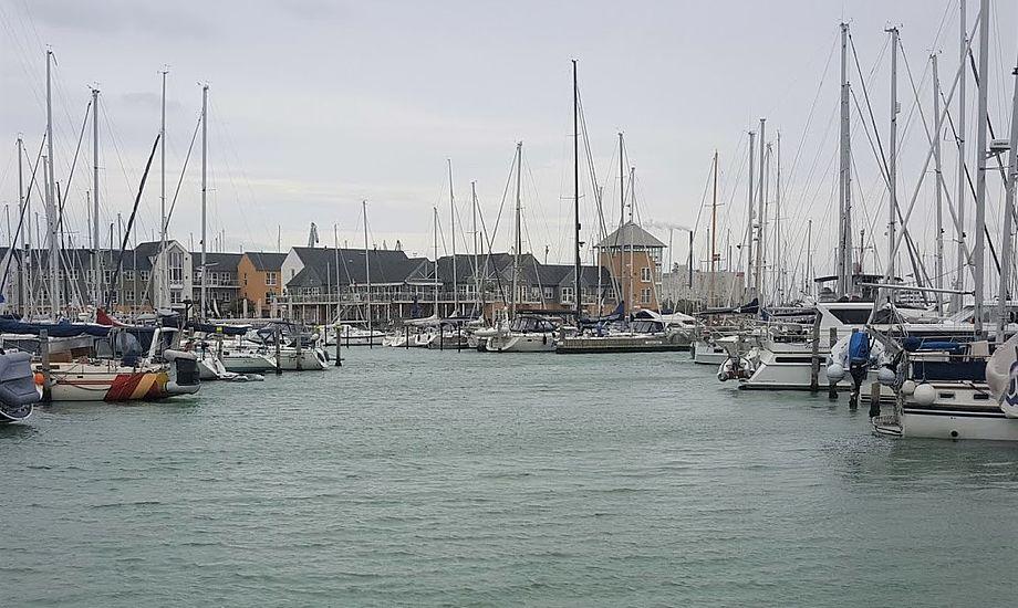 I Marselisborg Lystbådehavn finder man mange sejlere, der bor i bådene. Foto: Troels Lykke