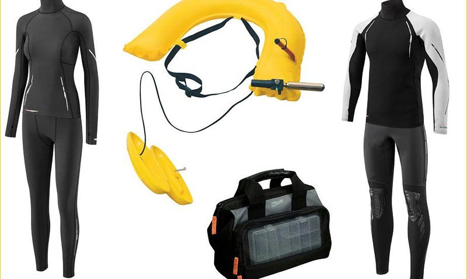 Varmt undertøj, redningsbælte eller en lille handy værktøjskasse. Både billigt og dyrt.