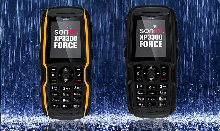 Sonim XP3300 kan ikke så meget, til gengæld holder den til næsten alt. Foto: Sonimtech.com