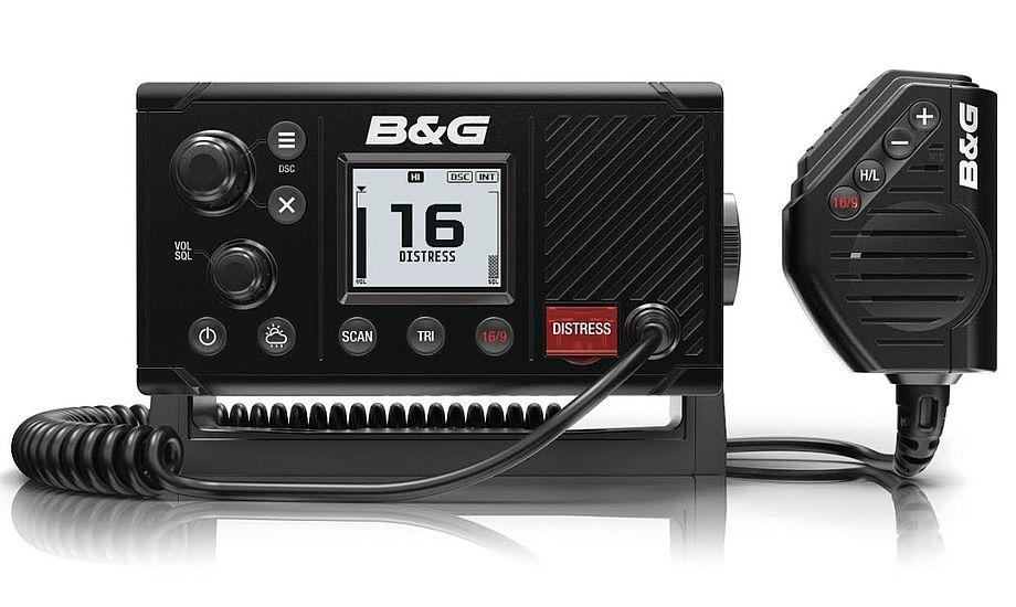 B&G-udgaven, B&G V20, af den nye VHF til store og små lystsejlere. Foto: PR-foto