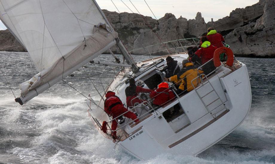 Bådkommissæren forhandler Beneteau. Foto: Troels Lykke
