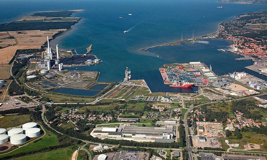 Kalundborg Havn kontraktligt forpligtet til at sikre minimum 10 meters vanddybde