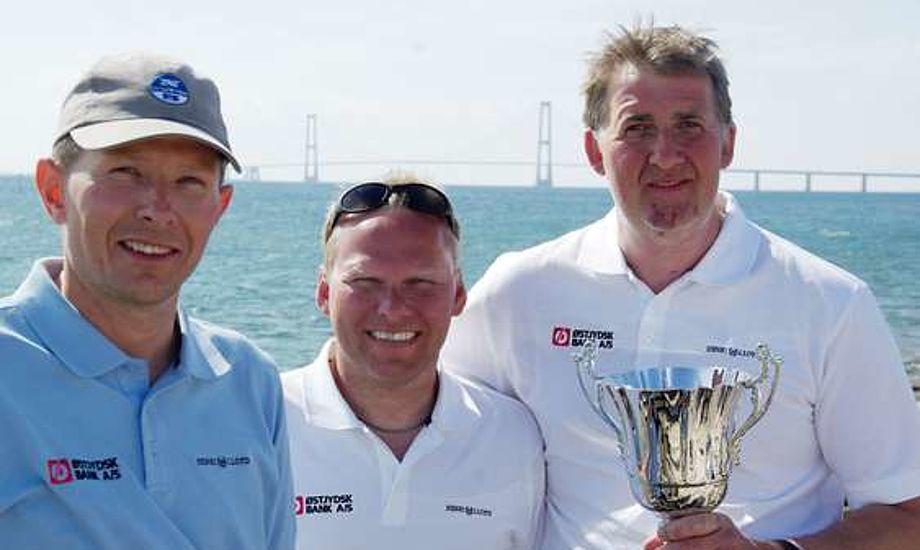 Fra venstre: Steffen Stegger, Lars Christansen, Car. Arkivfoto: Troels Lykke