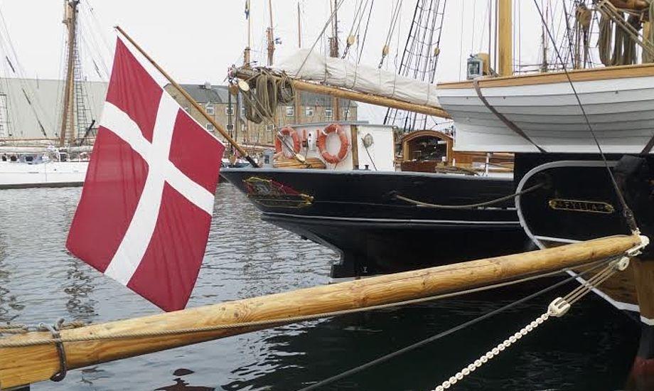 Fredag ankom de bevaringsværdige skibe til Svendborg. Foto: Søren Stidsholt Nielsen, Søsiden, Fyns Amts Avis