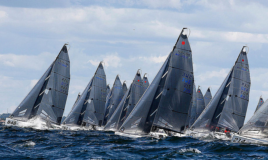 Nordic Trophy League kommer i 2018 til at bestå af fem stævner. Foto: Danish Melges 24 Class.