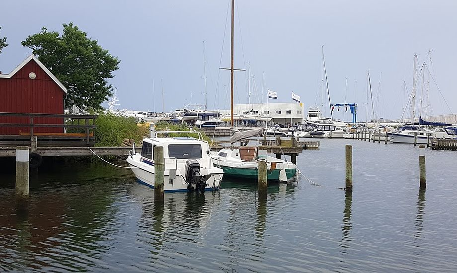 Du kan gravér bådens byggenummer flere skjulte steder på båden, så dette byggenummer ikke kan slettes efter et tyveri. Foto: Troels Lykke