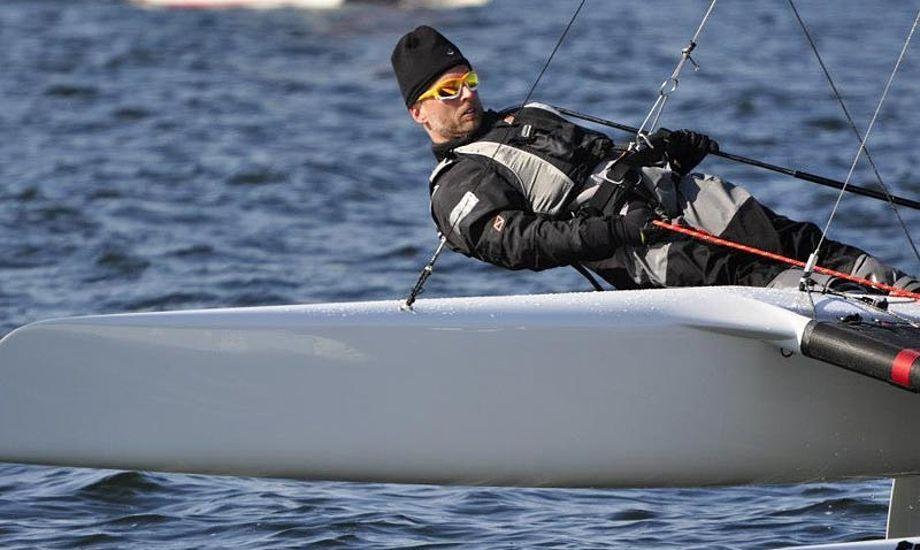 Thomas Paasch har fundet vinderstilen frem, og vandt 1.pladsen i Schwerin. Foto: facebook
