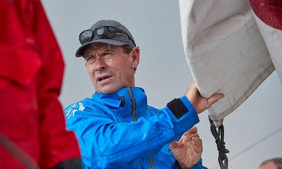 Brad Jackson, NZL, er ny skipper ombord på team AkzoNobel i 2017-2018 udgave af VOR. Foto: Thierry Martinez/Team AkzoNobel.