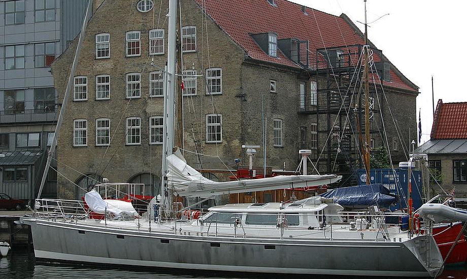 Her ses 62 fods Lars Olsen designet båd, Felicia.