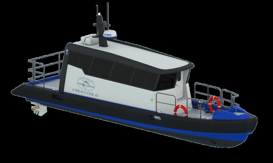 ProZero båden fra Tuco Marine er 11 meter lang og kan opnå en fart på over 30 knob. PR-foto.