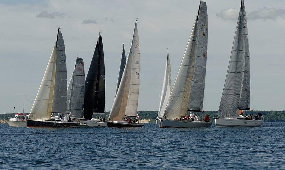 Med sine 47 sømil er Als Rundt oplagt til solosejlads. Foto: Sønderborg Yacht-Club