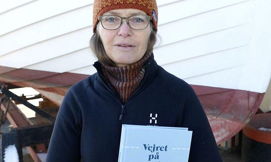 Forfatter, lektor og L23-sejler, Mette Hundahl, har skrevet en bog om vejret til både professionelle og lystsejlere. Foto: Søren Stidsholt Nielsen, Søsiden, Fyns Amts Avis