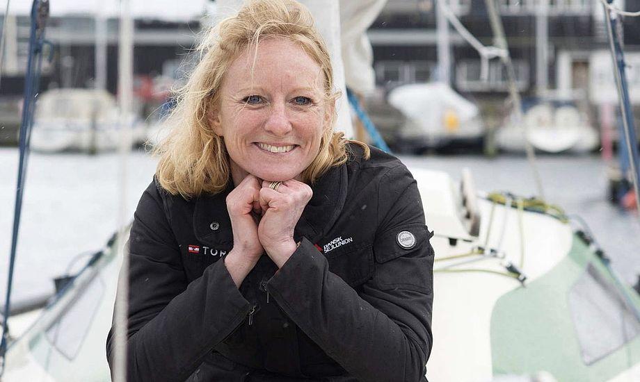 Advokat og CB66-sejler Line Markert er den første kvindelige formand i Dansk Sejlunion. Foto: Dansk Sejlunion