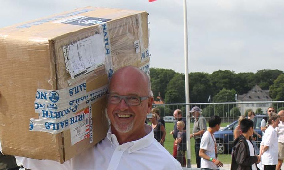 Per Dollerup Mikkelsen nåede at være ansat hos X-Yachts i næsten to år. Her er han på Flydende Fritid i Århus. Foto: Troels Lykke