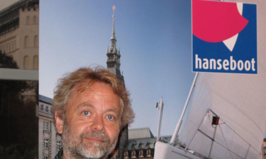 Niels Thomsen fra X-Yachts i Hamborg, hanseboot