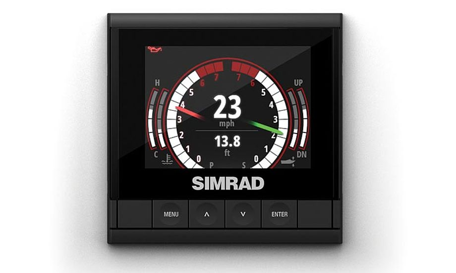 IS35 er klar til levering fra autoriserede Simrad forhandlere til en pris på 3.715 kr.