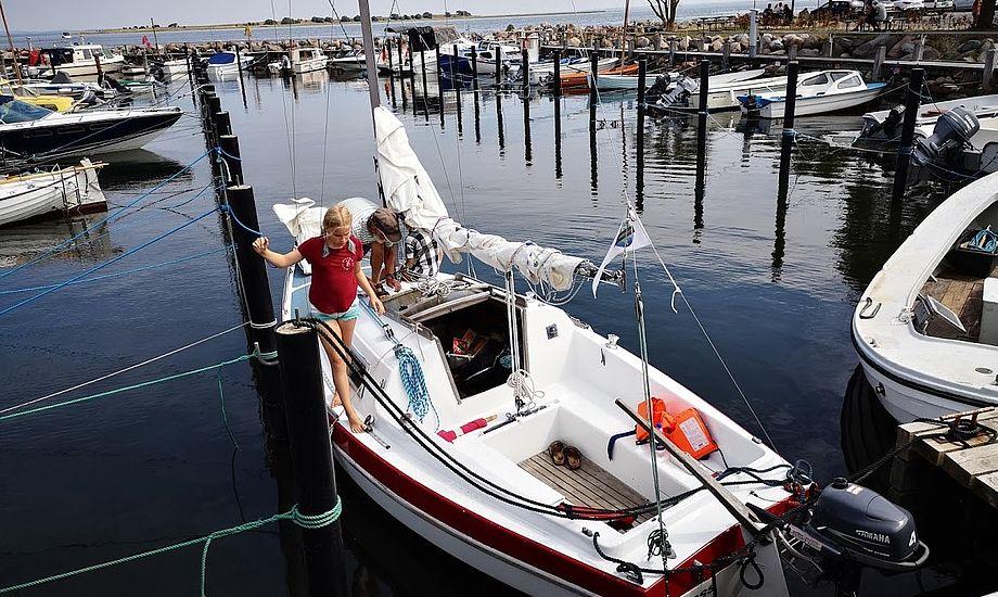 Flere danskere er kommet på vand efter en sommer, der i juli båd på den solrigeste måned nogensinde. Foto: Sara Sulkjær