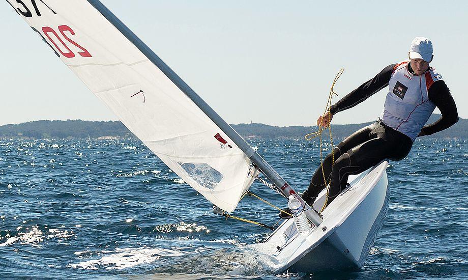 Michael Hansen sejler og er højt flyvende