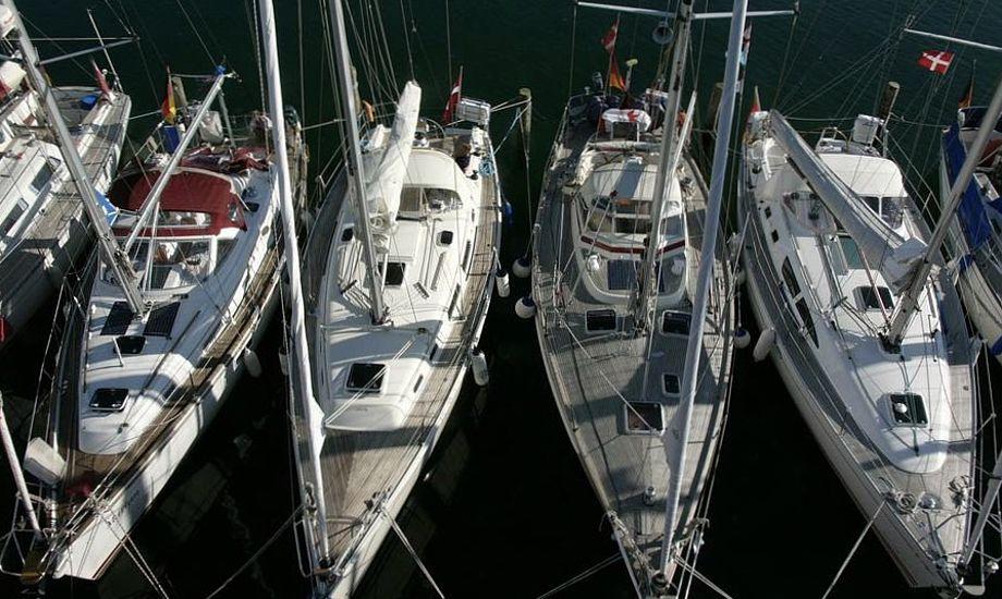 Sejlere i Det Sydfynske Øhav kan nu i fem tilfælde vælge havn efter antallet af stjerner. Foto: Søren Stidsholt Nielsen, Søsiden, Fyns Amts Avis