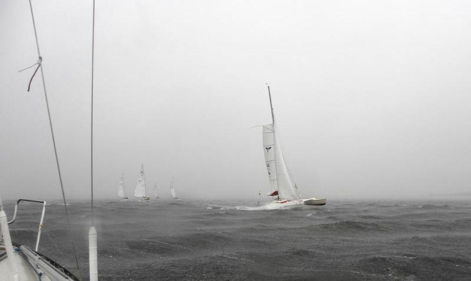 Spændende vejr til SRPI i 2013. Foto: Lars Plejdrup