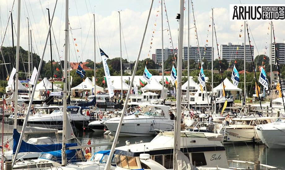 Bådmesse samtidig med Århus festuge garanterer, at der vil være et stort ryk ind af sejlere og andre maritimt interesserede. Foto: Michael Rosengaard