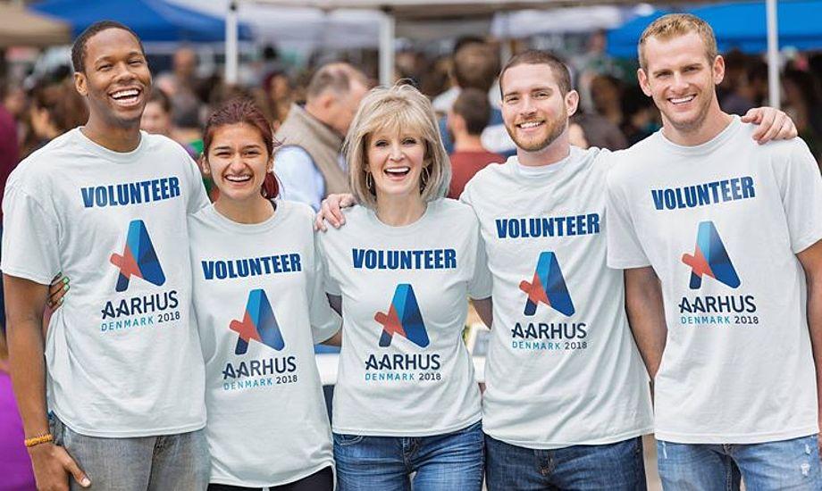 400 frivillige skal sikre den sportslige del af mesterskabet, ligesom 400 frivillige skal hjælpe til omkring den maritime folkefest på land. Foto: PR-foto