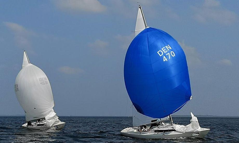 I foråret 2018 arrangerede Struer Sejlklub udtagelsesstævne til VM for H-både, og i juli 2019 er der DM for H-båd i byen. Foto: Troels Lykke