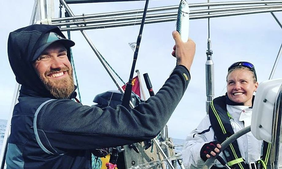 Humøret er højt på Vesterbro, hvor besætningen formår at snakke om problemerne, forklarer skipper Svenningsen. Foto: Vibeke Svenningsen