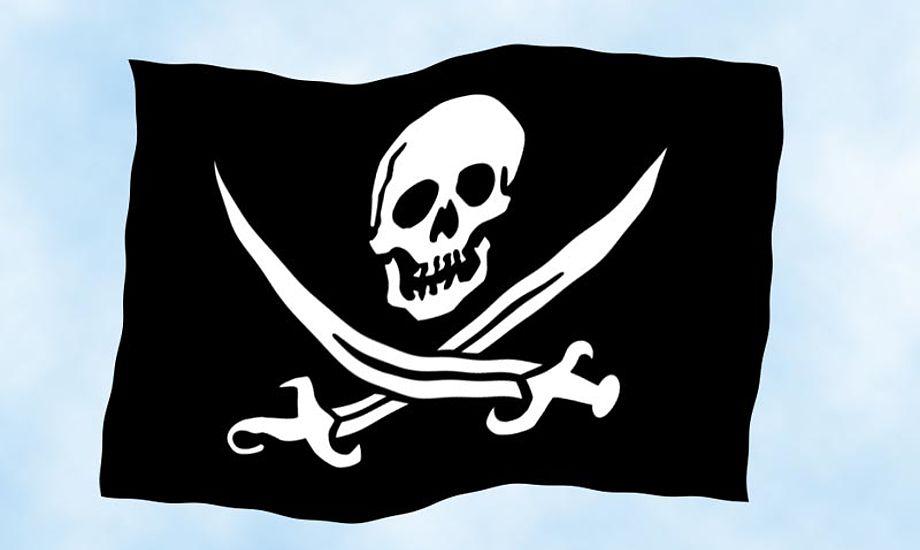 Den danske regering har i dag lanceret en strategi for piratbekæmpelse. Grafik: Katrine Bertelsen