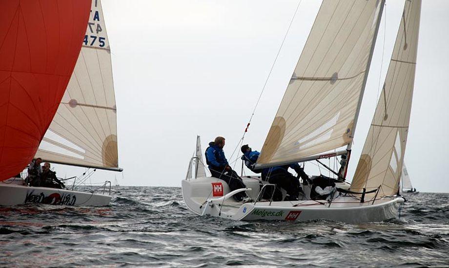 Kun 12-15 både er tilmeldt Spring Cup for Melges24 i Aarhus. Arkivfoto