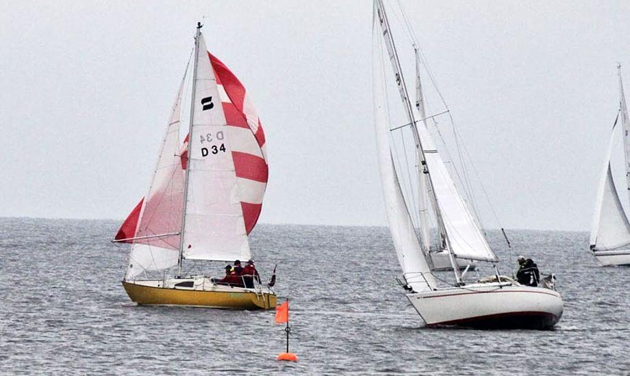 Kapsejlads i Sallingsund til Sail2SallingDoublerace i 2013. Foto: John Laugesen