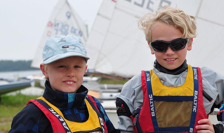 Deltagere i alle aldre er mødt op til sejlerlejr i Herslev. Foto: herslevsejlerlejr.dk