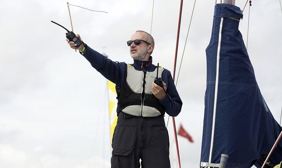 Christian Lerche er et kendt ansigt på landets kapsejladsbaner. Foto: Flemming Ø. Pedersen / Dansk Sejlunion
