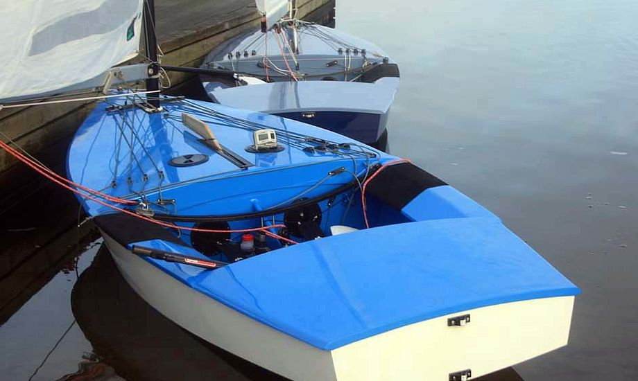 Den nye SOTA OK-jolle fra Strandberg-Marine.